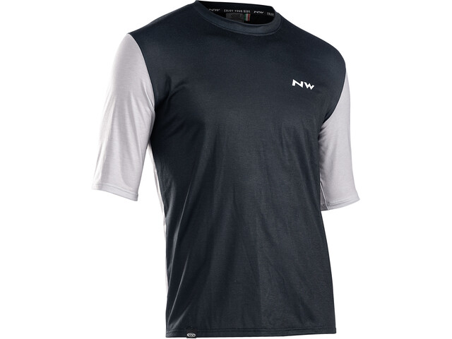 Northwave Xtrail Short Sleeve Jersey Men, black/off white